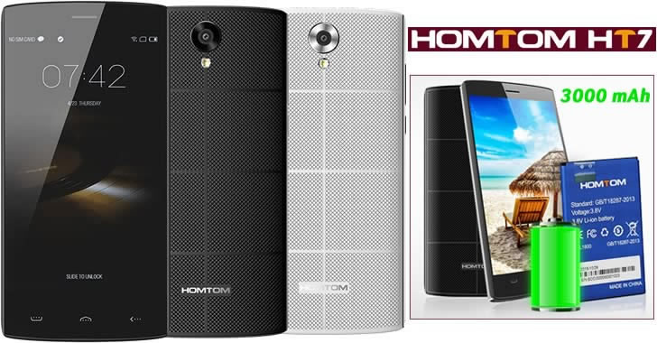 HOMTOM HT7 Battery