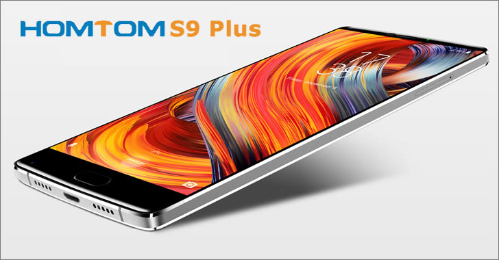 Homtom S9 Plus display