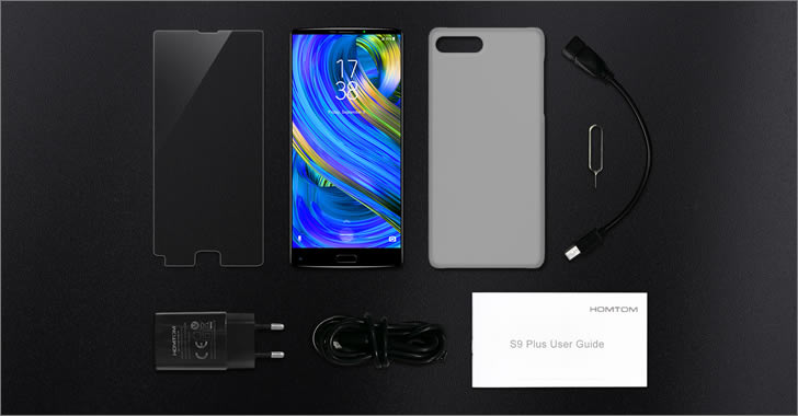 Homtom S9 Plus packaging