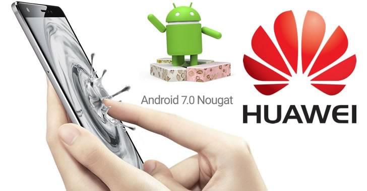 Кои Huawei смартфони ще получат ъпдейт до Android 7 Nougat