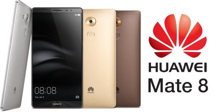 Huawei Mate 8 - colors
