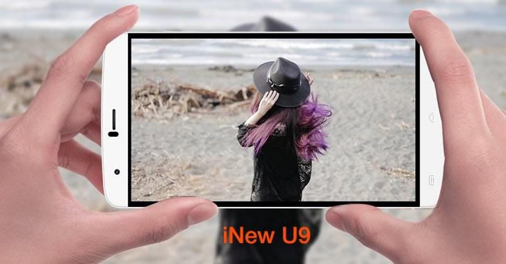 iNew U9 camera