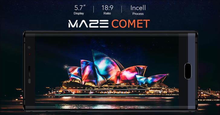 Maze Comet display