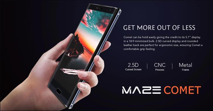 Maze Comet frame