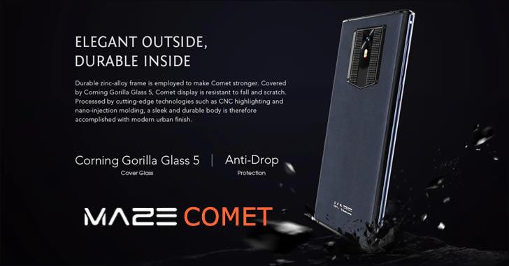 Maze Comet Gorilla Glass