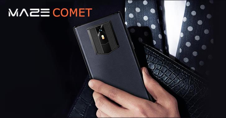 Maze Comet - елегантен смартфон с дъх на Vertu