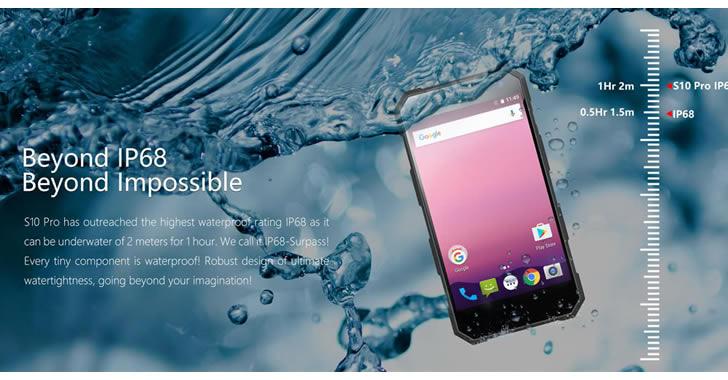 Nomu S10 Pro ip68