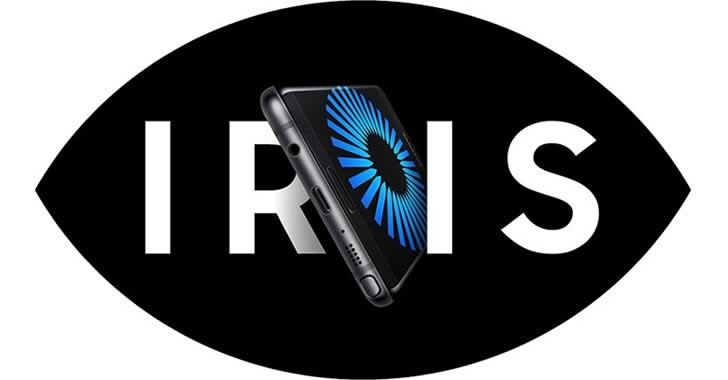 Samsung Galaxy Note7 IRIS