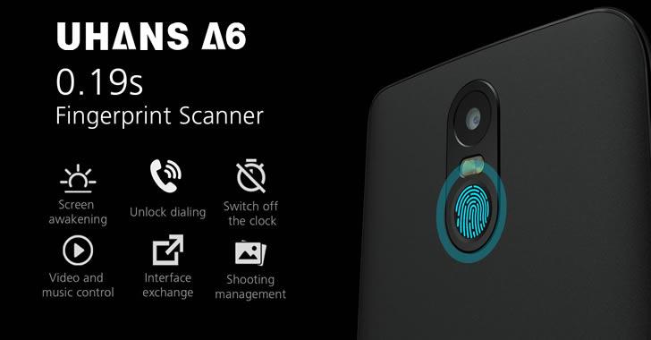 Uhans A6 fingerprint