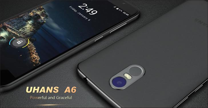 Uhans A6 - евтин 3G смартфон с голяма батерия