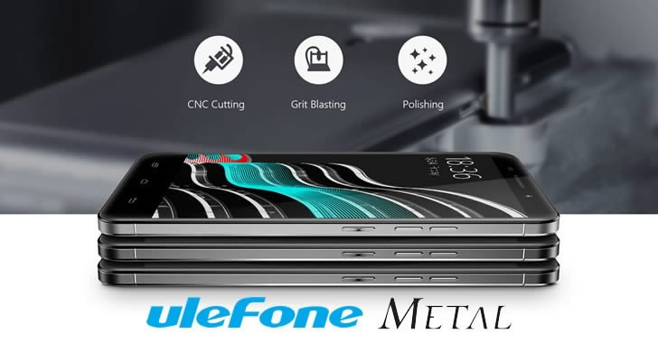 Ulefone Metal body