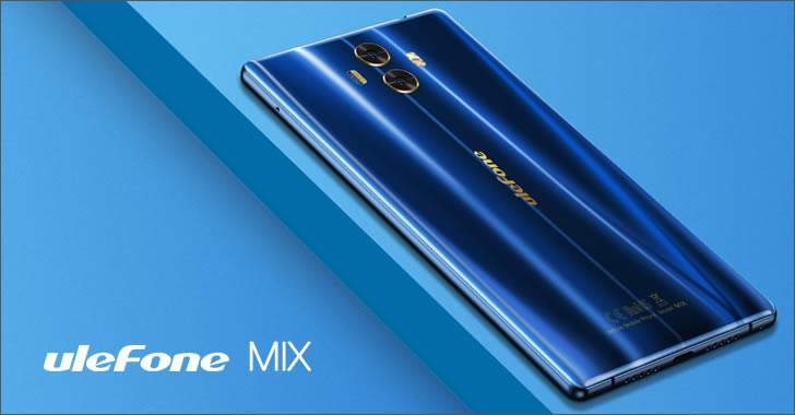 Ulefone Mix back