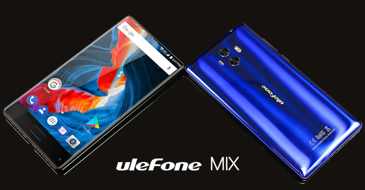 Ulefone Mix blue