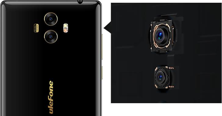 Ulefone Mix camera