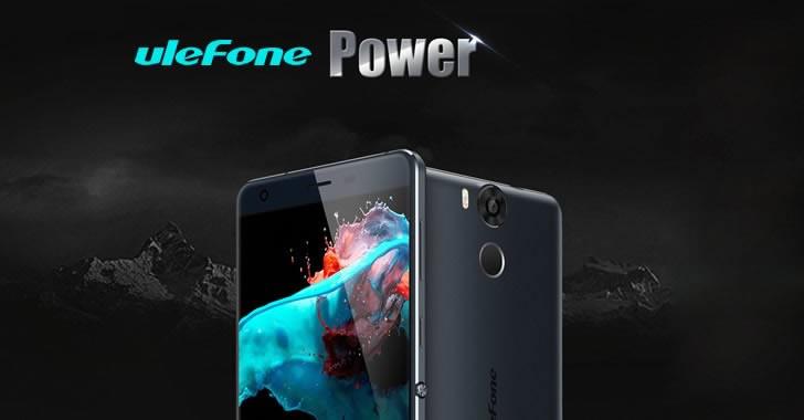 Смартфонът Ulefone Power с 6050 mAh батерия на намалена цена до 18 януари