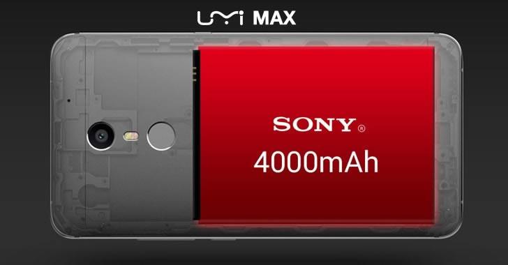 UMi Max Battery