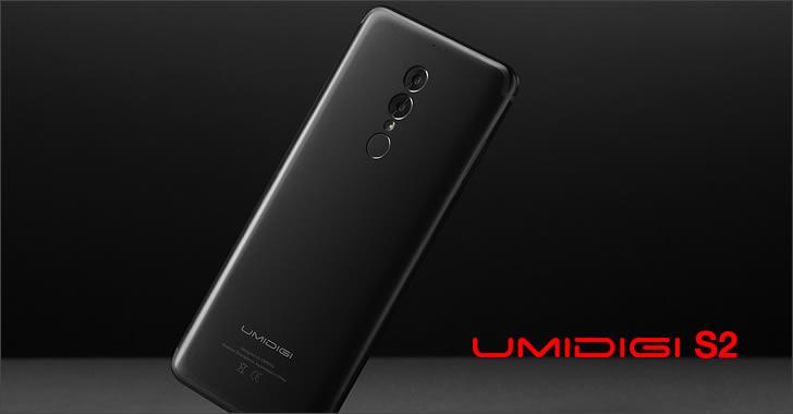 Umidigi S2 back