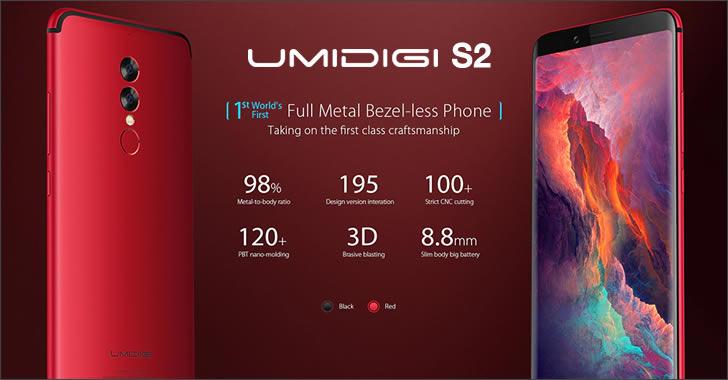 Umidigi S2 red