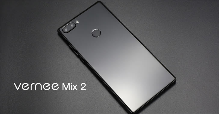 Vernee Mix 2 back