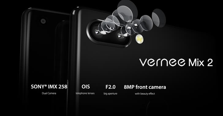 Vernee Mix 2 camera