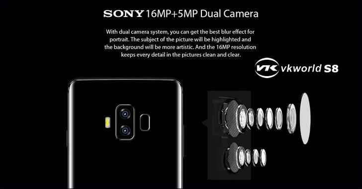 VKworld S8 camera