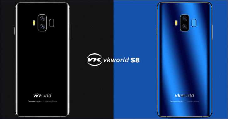 VKworld S8 colors