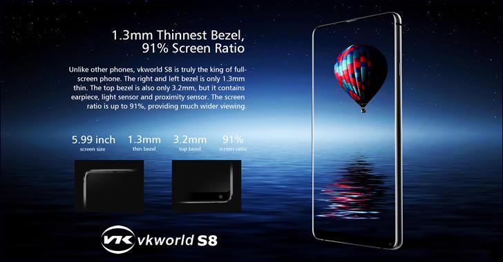 VKworld S8 design