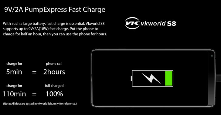 VKworld S8 PumpExpress