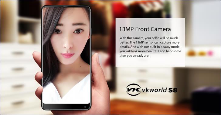 VKworld S8 selfie