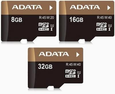 microSDHC картите A-DATA Premier Pro осигуряват скорости до 45 MB/s