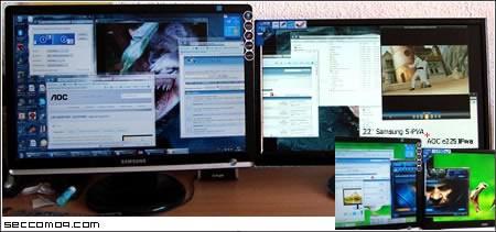 Обзор на USB монитор AOC e2251Fwu