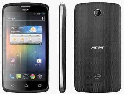 Acer Liquid C1 - първи смартфон, базиран на Intel Atom Z2420