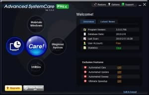 Advanced SystemCare, версия 3 3.7.3