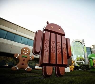 Android 4.4 KitKat е оптимизиран за работа с непретенциозен хардуер