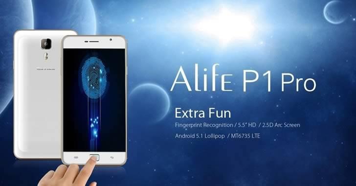 Blackview Alife P1 Pro - 5.5-инчов 4G смартфон с 2 GB RAM и четец на отпечатъци за $99