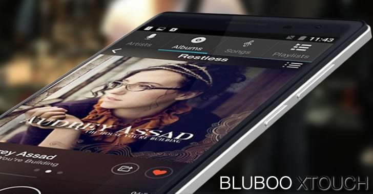 Bluboo XTouch - мощен 5-инчов смартфон с огледален 3D гръб