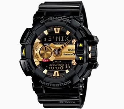 Умният часовник Casio G-Shock GBA-400 осигурява 2 години работа без смяна на батерията