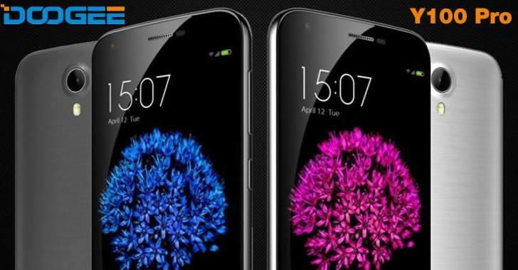 DOOGEE Y100 Pro - смартфон с безшевен корпус и страхотна визия