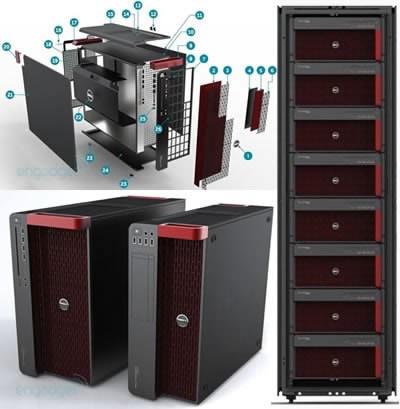 Работните станции Dell Precision ще са с нови дрехи през 2011г.