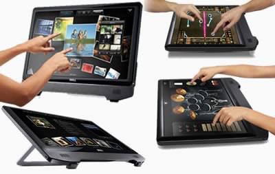 Мултитъч LCD монитора Dell ST2220T е в магазините