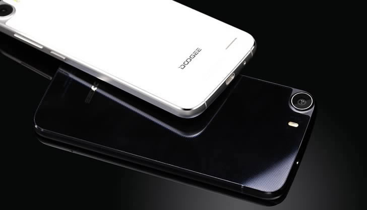 Doogee F3 Pro - glass back