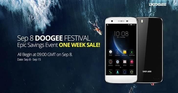 Ексклузивна разпродажба на Doogee смартфони в 12 часа, вторник, 8 септември