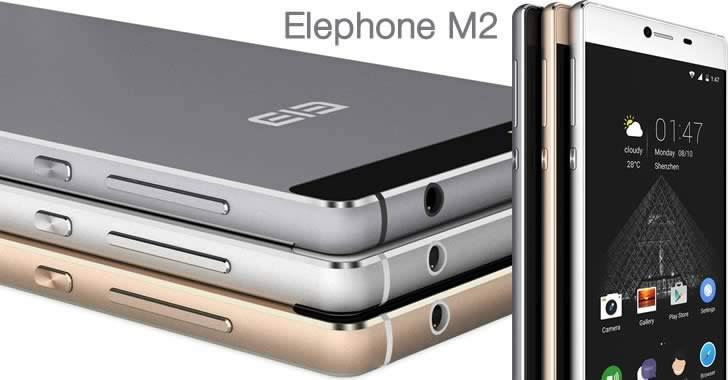 Elephone M2 - тънък, метален 4G смартфон с бизнес излъчване