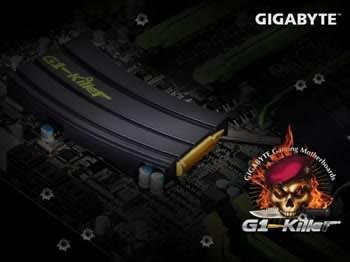 Gigabyte G1-Killer X58 - дизайнерско дънна платка с пълнител на автомат за охладител