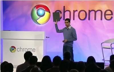 Google показа първия лаптоп, задвижван от Chrome OS