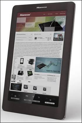 Eink анонсира цветен екран за електронна книга