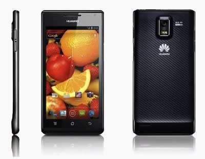 Смартфонът Huawei Ascend P1 с дебелина 7.69мм вече е в България