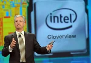 Таблетната платформа Intel Cloverview ще дебютира едновременно с Windows 8