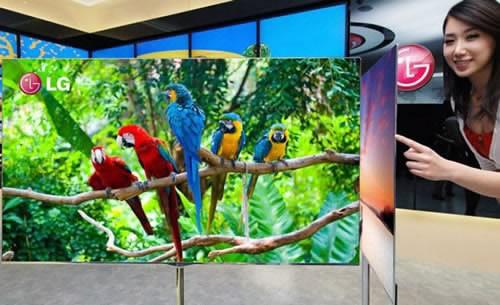 LG започва годината с уникален 55-инчов OLED телевизор
