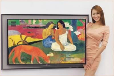 LG Gallery 55EA8800 - 55-инчова картина от известен художник или OLED телевизор?